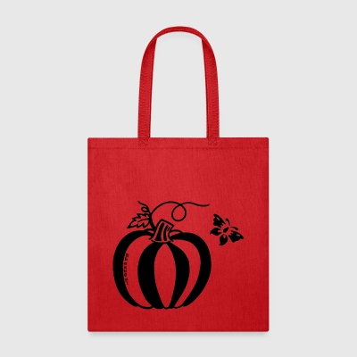 Thankful Pumpkin Butterfly Design - Tote Bag