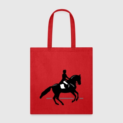 Dressage Rider - Tote Bag