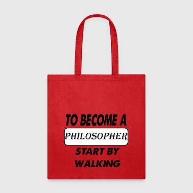 to become a philosopher - Tote Bag