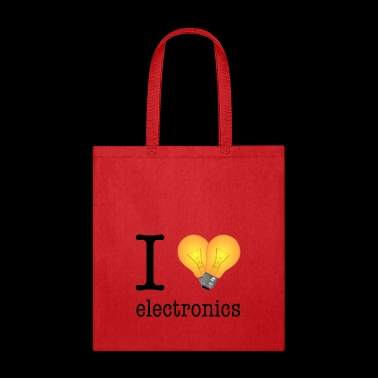 I love Electronics / Gift Idea - Tote Bag