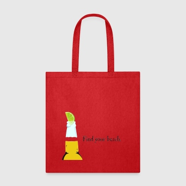 find your beach - Tote Bag