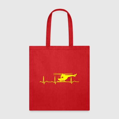 GIFT - ECG HELICOPTER YELLOW - Tote Bag