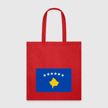 Kosovo country flag love my land patriot - Tote Bag