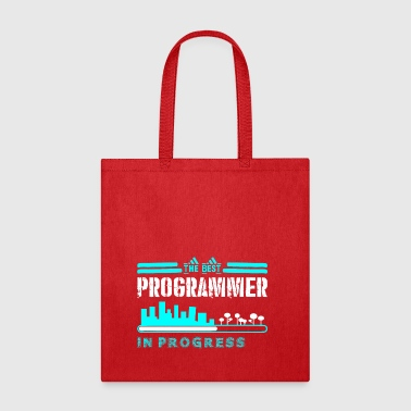 The Best Programmer In Progress - Tote Bag
