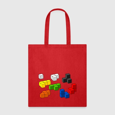 Tetris blocks - Tote Bag
