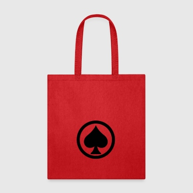 Pik Spade Cards Cardgame Mountaintop Peak Gift - Tote Bag