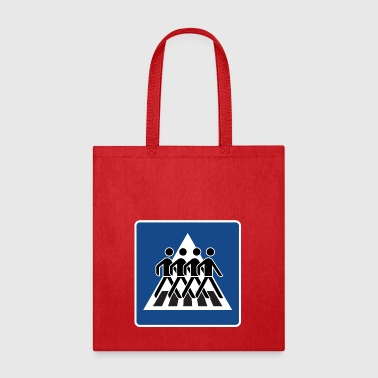 Beatles crossing gift present idea - Tote Bag
