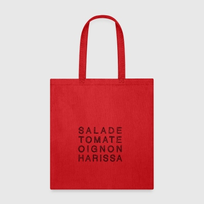 KEBAB HARISSA in black - Tote Bag