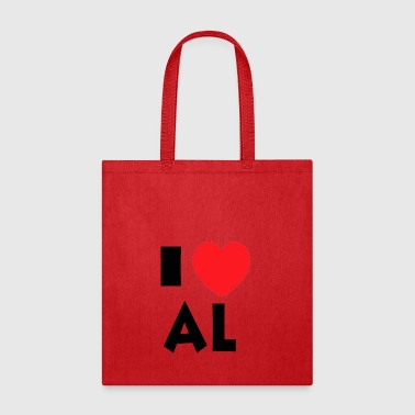 I Love Alaska - Tote Bag