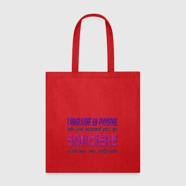 Laboratine in Witch Physics - Tote Bag