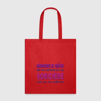 Witch Theater Decorator - Tote Bag