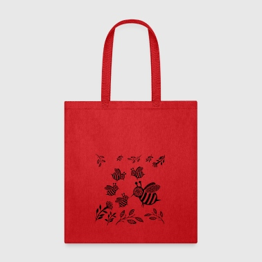 GIFT - HONEY BEE BLACK - Tote Bag