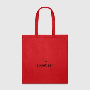 the appetizer schwarz - Tote Bag