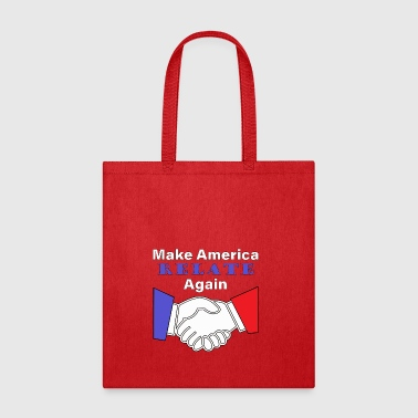 Make America Relate Again blue and red - Tote Bag