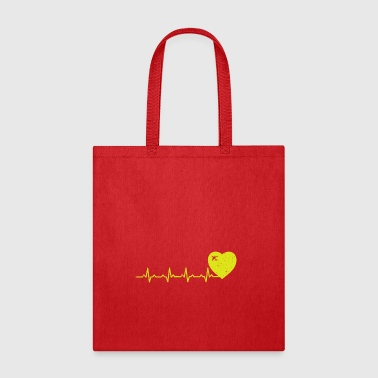 Heartbeats Love for Travel - Tote Bag