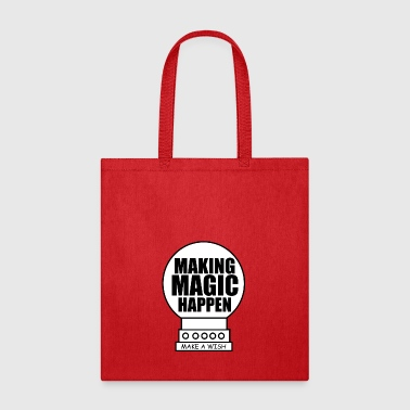 Making magic happen vectorized - Tote Bag
