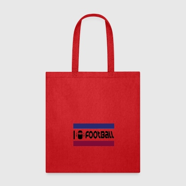 I love Football - Tote Bag
