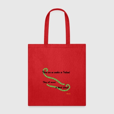 0051 There Are No Snakes In Ireland - Tote Bag
