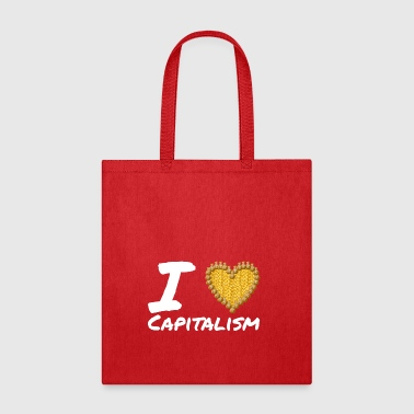 I Love Capitalism - gift - Tote Bag