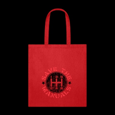 Save the Manual Gearshift - Tote Bag
