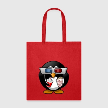 cinema penguin - Tote Bag