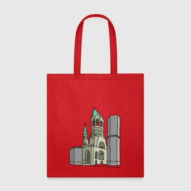 Memorial Church Berlin - Tote Bag