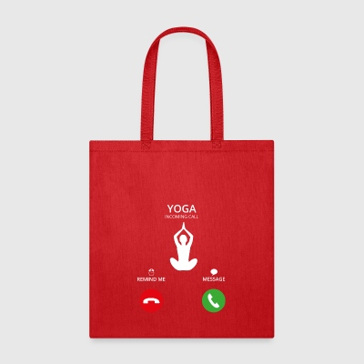 Call Mobile Anruf yoga - Tote Bag