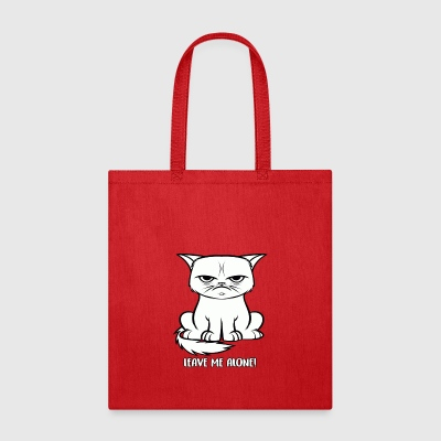 Leave me alone Grumpy cat - Tote Bag