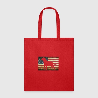 patriotic labrador retriever shirt - Tote Bag