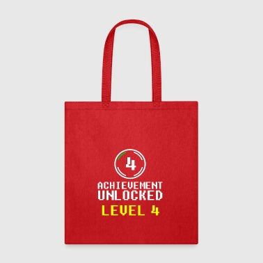 achievement unlocked level 4 - Tote Bag