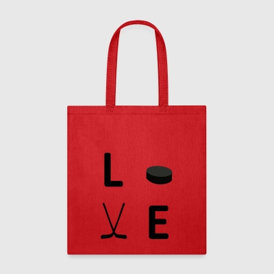 hockey love - Tote Bag
