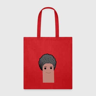 afro finger with beard - Tote Bag