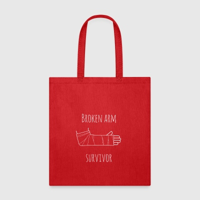 broken arm survivor - Tote Bag