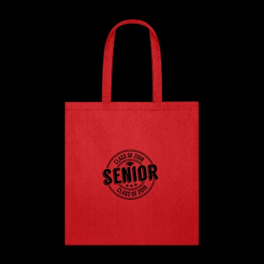 Class of 2018 Senior Circle Black - Tote Bag