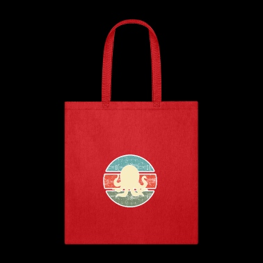 Retro Style Octopus - Tote Bag
