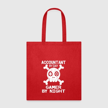 Acountant By Day Gamer By Night Gift - Tote Bag