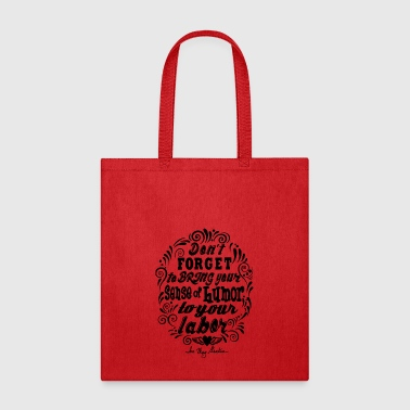 Humor black - Tote Bag