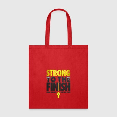 Strong To The Finish - Tote Bag