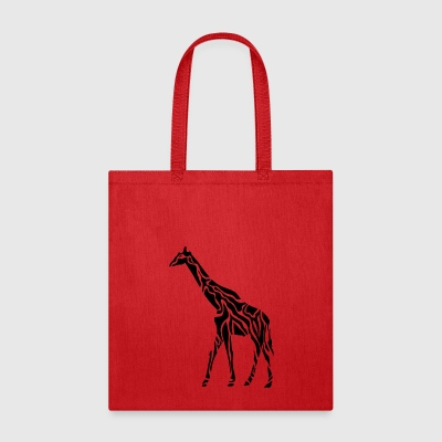 giraffe wildlife africa animal tiere - Tote Bag