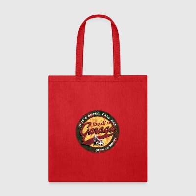 dad's garage - Tote Bag