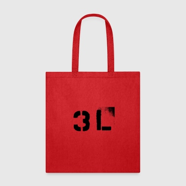 3L or 3rd Level Solid Stencil - Tote Bag