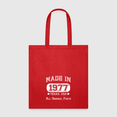 Made in 1977 - Tote Bag