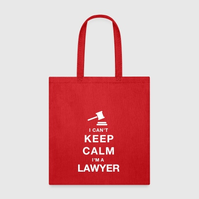 Keep calm lawyer - Tote Bag