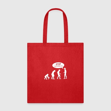Banksy Funny Human Evolution Indie - Tote Bag