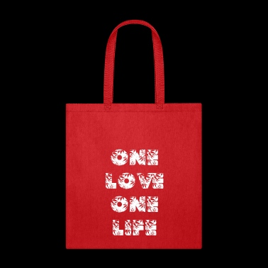 One love one life - Tote Bag