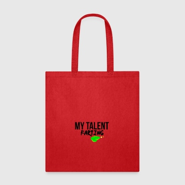 Farting talent - Tote Bag