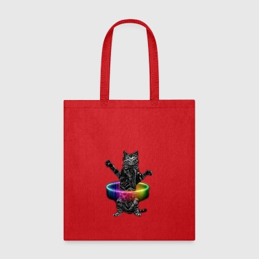 HULA HOOP CAT - Tote Bag