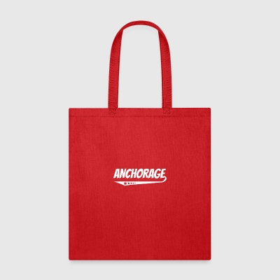 Anchorage Retro Comic Book Style Logo - Tote Bag