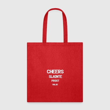 Cheers In 4 Languages - Tote Bag