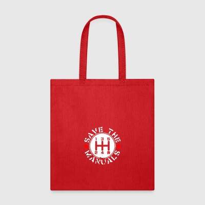 SAVE THE MANUALS - Tote Bag